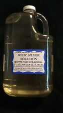 PURE IONIC SILVER SOLUTION (lab-grade) FDA APPROVED LABELING and REGISTERED APPL