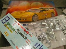 REVELL CORVETTE C6-R AFTERMARKET PARTS & DECALS and  ACTUAL CAR PHOTOS ITK #13