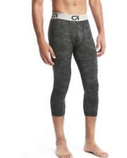 Gap Fit Compression layer three-quarter Tight pants, Black Camo SIZE M  #179306