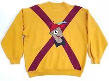 80s VTG MEMPHIS MILANO Bolgheri M Sweater mcm midcentury kansai Cartoon Rare Pop