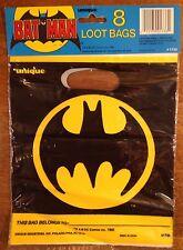 Vintage 1982 Batman Loot Bags, Party