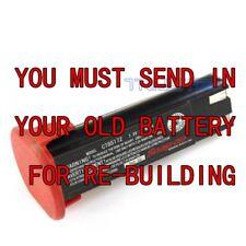 Rebuild service for SNAP-ON 7.2v CTB5172 Ni-CD 1.5 AH battery