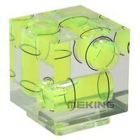 Triple 3 Axis Hot Shoe Spirit Level Hotshoe Bubble For Canon Nikon DSLR Camera