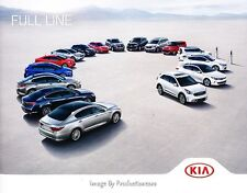 2017 Kia 36-page Car Sales Brochure Catalog - Soul K900 Optima Forte Niro Sedona