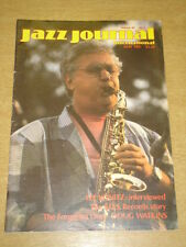 JAZZ JOURNAL INTERNATIONAL VOL 40 #5 1987 MAY LEE KONITZ DOUG WATKINS