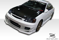 01-03 Honda Civic 2DR Duraflex Bomber Body Kit 4pc 110317