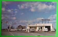 Viking Service Station/Restaurant-Grimsby, ON., Canada-1960s Mid Modern Postcard