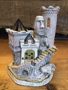 David Winter Easter Rock W/ Box Castle