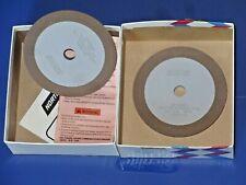 2 Norton Diamond Wheels 4 Diameter See Pics