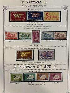 EARLY LOT VF MLH SOUTH VIETNAM HANG-KHONG AIRMAIL DRAGON B697.2 START$0.99