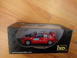 IXO 1/43 MITSUBISHI LANCER WRC #14 SWEDEN RALLY 2006 GALLI/BERNACCHINI RAM236