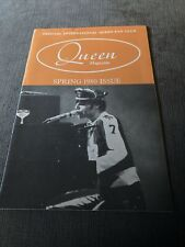 More details for queen spring 1980 rare original fanclub magazine in good condition