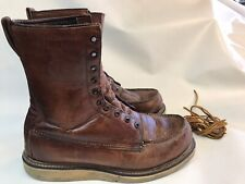 Vintage 1950s Red Wing Irish Setter Sport Boots Size Style 898 Size 9 Ee
