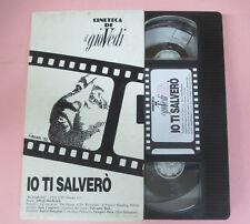 VHS film IO TI SALVERO' Alfred Hitchcock CINETECA DE IL GIOVEDI' (F162) no dvd