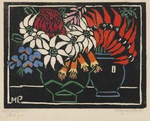 Sturts Desert Pea : Margaret Preston : 1925 :  Archival Quality Art Print