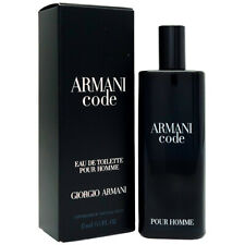 ARMANI CODE Pour Homme By Giorgio Armani 0.5oz 15ml EDT Spray SEALED FOR MEN