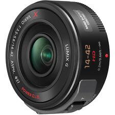 New Panasonic Lumix G X Vario PZ 14-42mm f/3.5-5.6 Power O.I.S. Lens (Black)