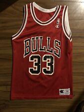 Vintage Scottie Pippen #33 Chicago Bulls Champion Jersey Size 40