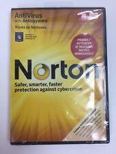 SEALED! BRAND NEW Norton AntiVirus with Antispyware 2011