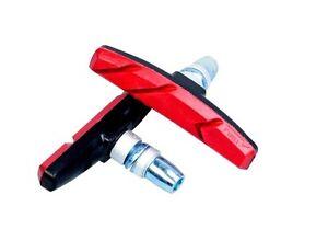 70 MM RED&BLACK Mountain MTB Bike Bicycle Abrasive Rubber V-Brake *REAR*
