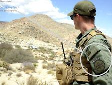 KANDAHAR-WHACKER© AFGHAN ARMY TRAINING DHS BORDER SECURITY CBP BORSTAR + US Flag