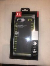 Under Armour UA Protect Grip for IPHONE 6/6S /7PLUS- Grey/Lime Green