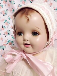 """24"""" Composition happy baby doll"""