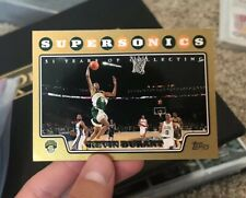 Kevin Durant Supersonics Card Topps #156 Gold 1196/2008
