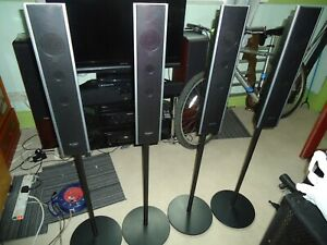 Sony surround sound speakers model SS-TS82+stands