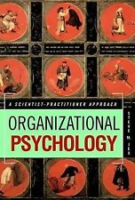 Organizational Psychology by Steve Jex (2002) 1st edition