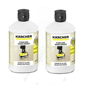 Karcher RM530 Floor Care for Waxed Parquet Oil Wax Finish Detergent 62957780 X2