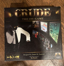 Crude The Oil Game - Board Game by Stronghold Games **NEW***