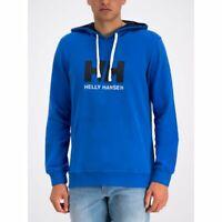 Helly Hansen HH Logo Men's Hoodie 33977/563 Olympian Blue NEW