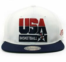 Mitchell & Ness 1992 Team USA Basketball Snapback - White *NEW*