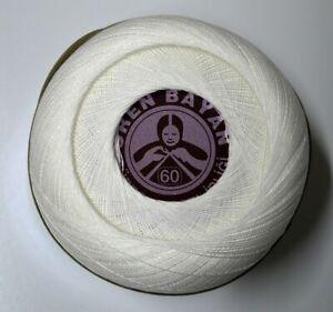 Ören Bayan No 60 Super Mercerize Weiß 100g Türkei sehr beliebt Abgebot Türkei