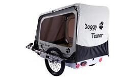 Fahrradanhänger / Hundeanhänger Kids Touring Doggy Tourer L silber