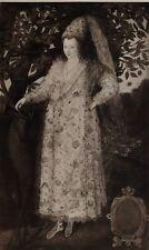 1896 ANTIQUE PRINT (QUEEN ELIZABETH I) QUEEN ELIZABETH IN FANCY DRESS