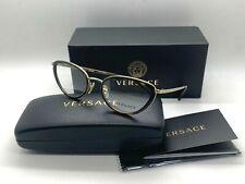 NEW VERSACE Eyeglasses OVE1258 1440 TORTOISE/GOLD  52-19-140MM /NIB ITALY