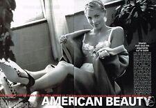 Coupure de Presse Clipping 2000 (6 pages) American Beauty par Sante d'Orazio