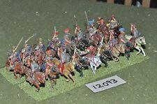 25mm roman era / roman - cavalry 18 cavalry - cav (12093)
