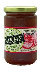 Greek Cypriot Nikis Rose Petals Triantafyllo Spoon Sweet Glyko 330g (11.6oz)