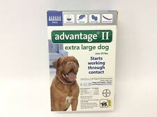 Bayer Advantage Ii 6 Months Supply Flea and Lice Treatment for Extra Large Dogs