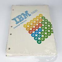 Vintage IBM Language Reference AIX VS COBOL Compiler 6000