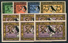 Merseburg 10 Scheine mit einheitlicher KN ..................................z227
