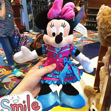 Minnie Mouse 12th anniversary authentic Plush doll Hong Kong Disney Disneyland