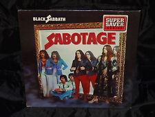Black Sabbath Sabotage SEALED USA VINYL LP W/ NO BARCODE