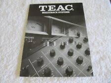 TEAC Multichannel Systems Brochure  A3440 Reel to Reel