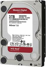 WD Red 3TB WD30EFRX NAS Hard Drive 5400 RPM Class SATA 6 Gb/s Western Digital