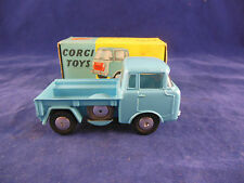 Corgi 409 Forward Control Jeep FC-150 in Light Blue flat spun hubs near mint