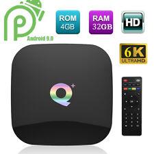 Q Plus 4GB/32GB 6K Android 9.0 TV BOX Allwinner H6 Quad Core USB WiFi 3D Media